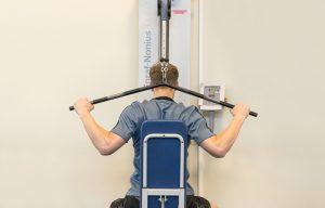 voorbeeld van trainen in de oefenzaal